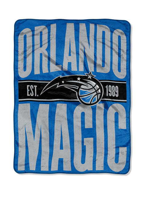 NBA Orlando Magic Clear Out Micro Raschel Throw