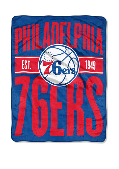 NBA Philadelphia 76ers Clear Out Micro Raschel Throw