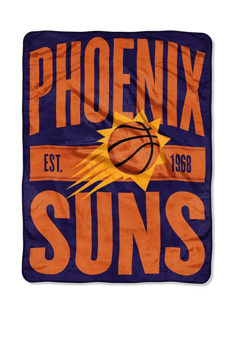 NBA Phoenix Suns Clear Out Micro Raschel Throw