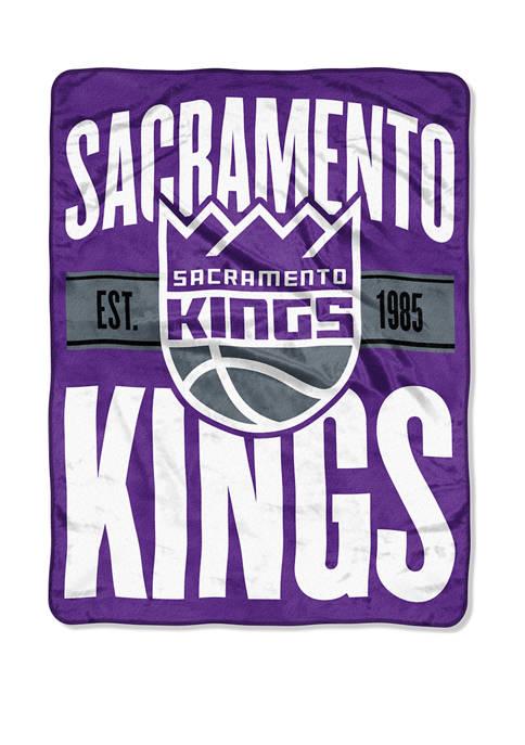 NBA Sacramento Kings Clear Out Micro Raschel Throw