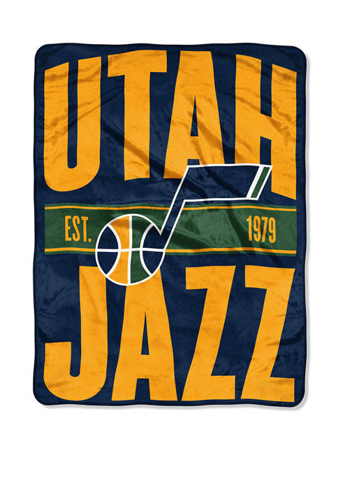 NBA Utah Jazz Clear Out Micro Raschel Throw
