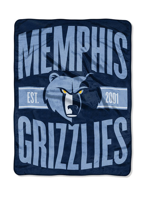NBA Memphis Grizzlies Clear Out Micro Raschel Throw