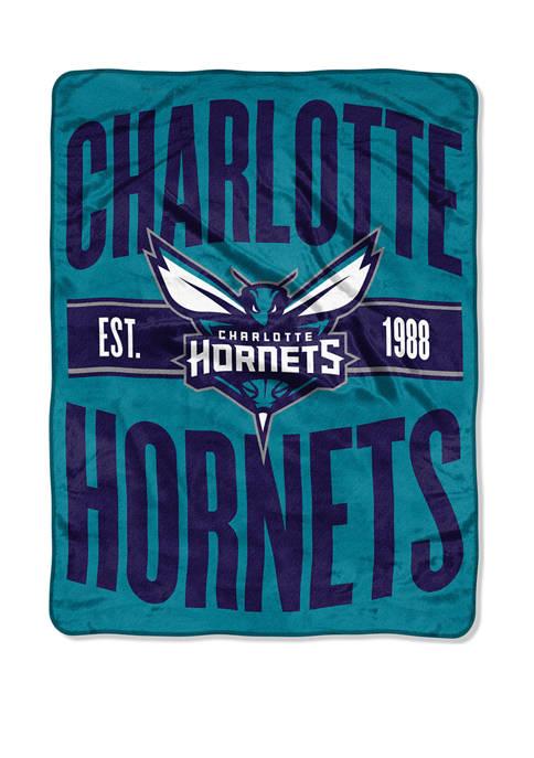 NBA Charlotte Hornets Clear Out Micro Raschel Throw