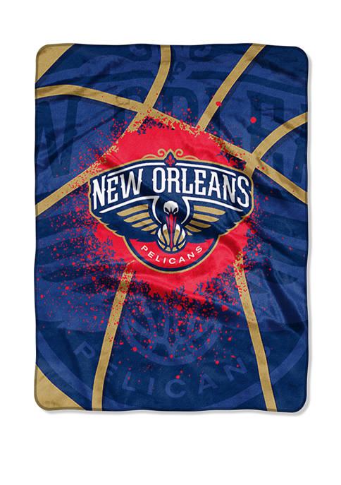 NBA New Orleans Pelicans Shadow Play Raschel Throw