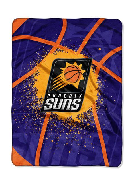 NBA Phoenix Suns Shadow Play Raschel Throw