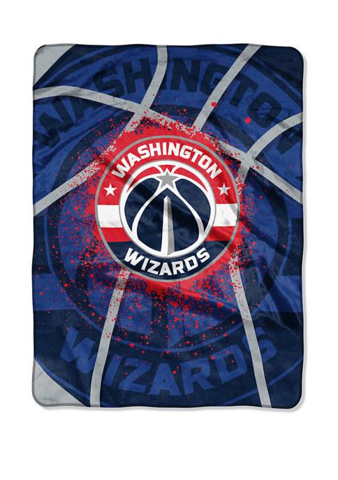 NBA Washington Wizards Shadow Play Raschel Throw