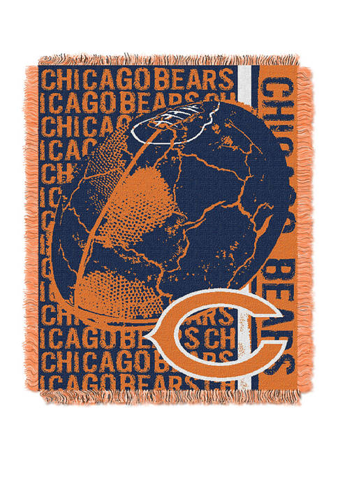 NFL Chicago Bears Double Play Jacquard Woven Throw