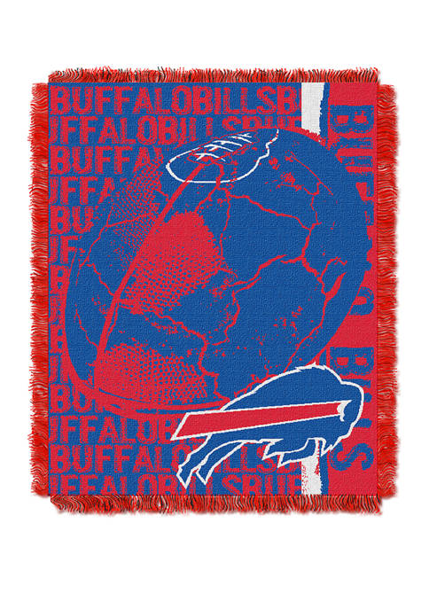 NFL Buffalo Bills Double Play Jacquard Woven Throw