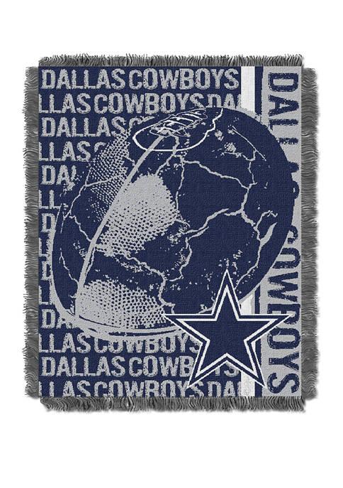 NFL Dallas Cowboys Double Play Jacquard Woven Throw