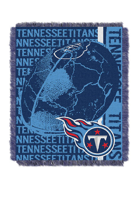 NFL Tennessee Titans Double Play Jacquard Woven Throw