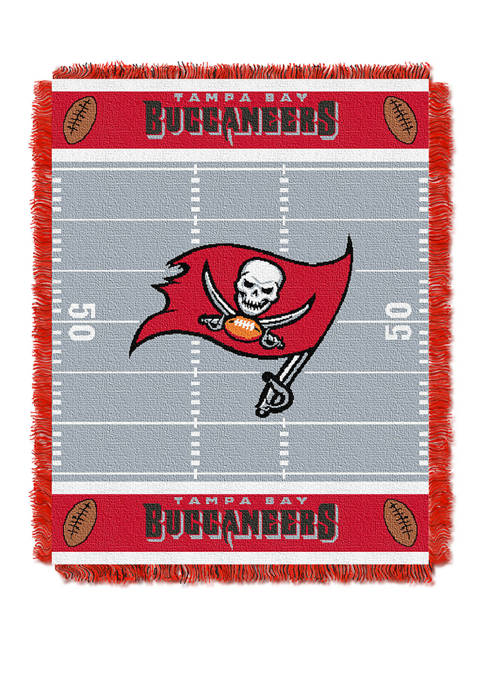 NFL Tampa Bay Buccaneers Field Baby Woven Jacquard Throw
