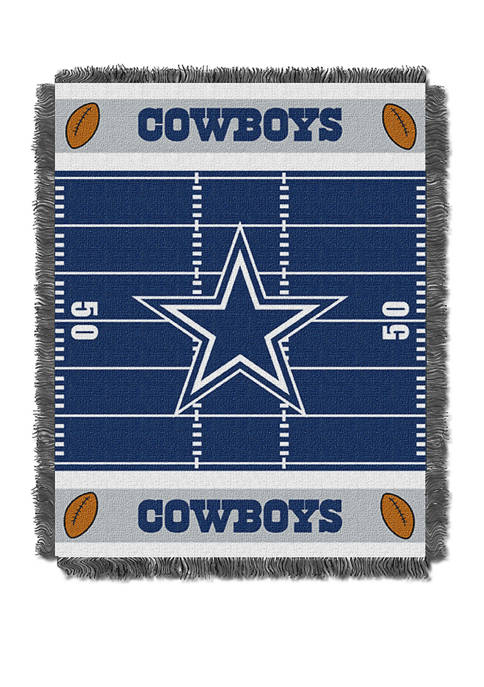 NFL Dallas Cowboys Field Baby Woven Jacquard Throw