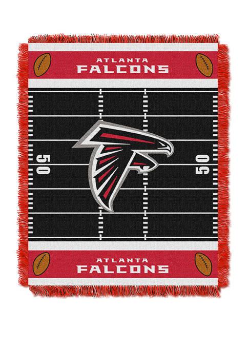 NFL Atlanta Falcons Field Baby Woven Jacquard Throw