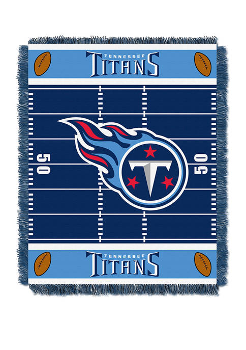 NFL Tennessee Titans Field Baby Woven Jacquard Throw