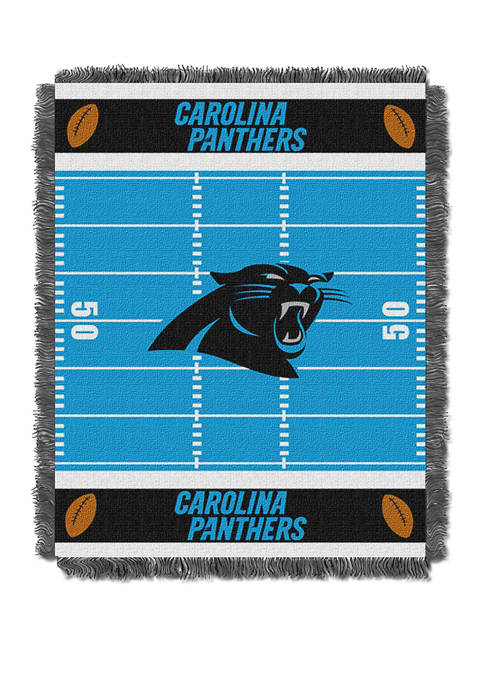 NFL Carolina Panthers Field Baby Woven Jacquard Throw