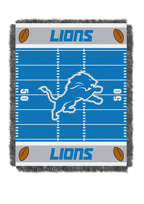 NFL Detroit Lions Field Baby Woven Jacquard Throw