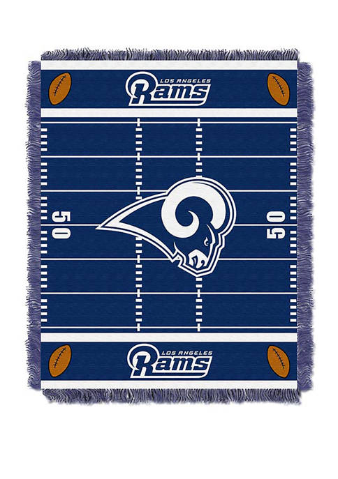 NFL Los Angeles Rams Field Baby Woven Jacquard Throw