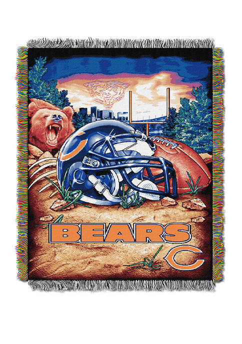 NFL Chicago Bears Home Field Advantage Tapestry