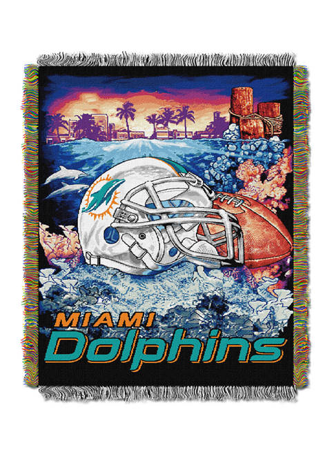 NFL Miami Dolphins Home Field Advantage Tapestry