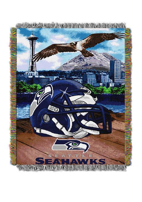 NFL Seattle Seahawks Home Field Advantage Tapestry