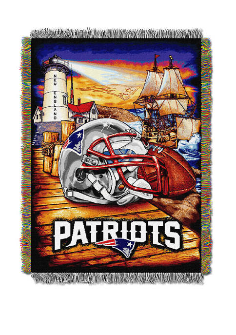 NFL New England Patriots Home Field Advantage Tapestry