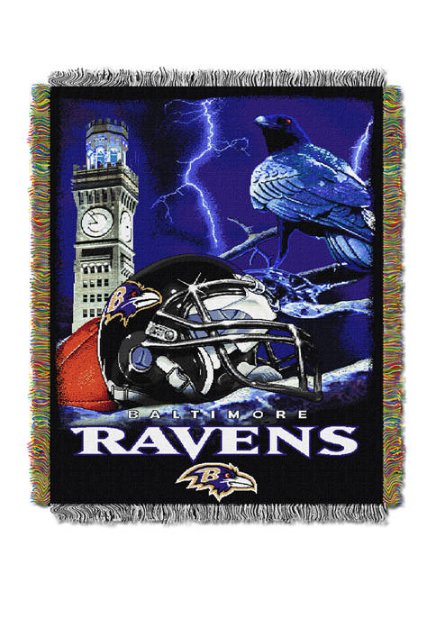 NFL Baltimore Ravens Home Field Advantage Tapestry