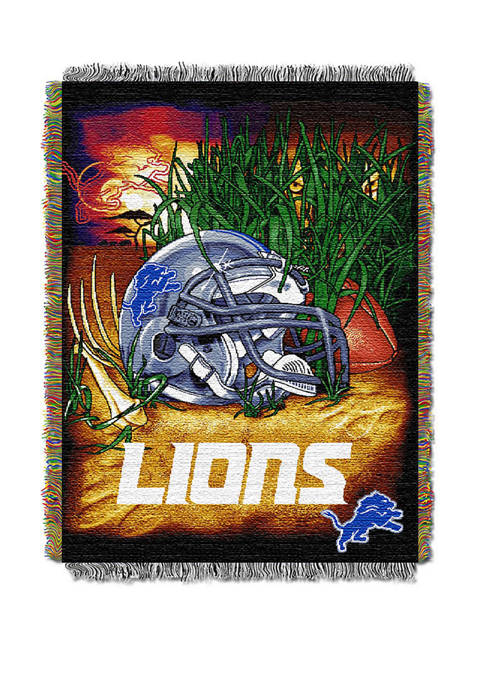 NFL Detroit Lions Home Field Advantage Tapestry