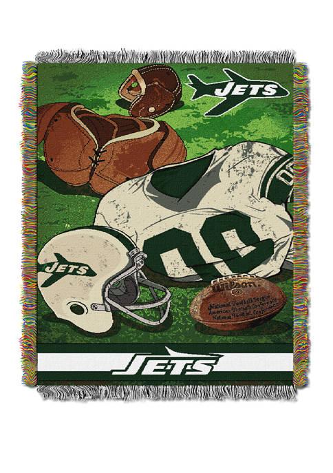 NFL New York Jets Vintage Throw Blanket