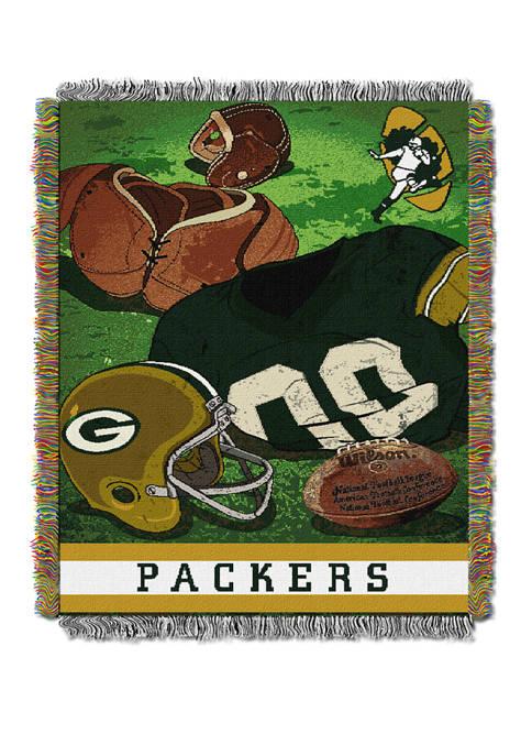 NFL Green Bay Packers Vintage Throw Blanket