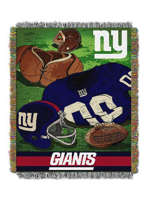 NFL New York Giants Vintage Throw Blanket