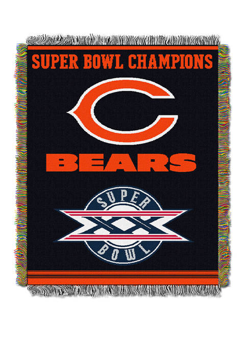 NFL Chicago Bears Commemorative Series Tapestry
