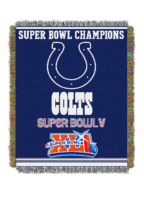 NFL Indianapolis Colts Commemorative Series Tapestry