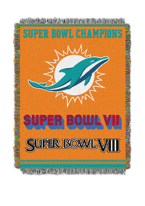 NFL Miami Dolphins Commemorative Series Tapestry