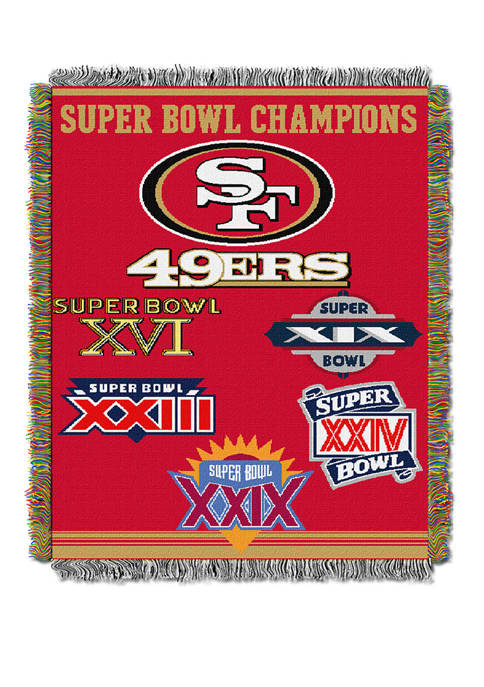 The Northwest Company NFL San Francisco 49ers Commemorative