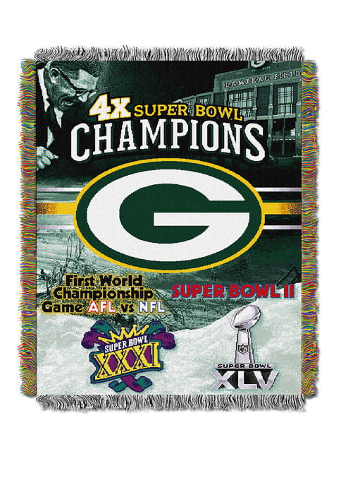 NFL Green Bay Packers Commemorative Series Tapestry