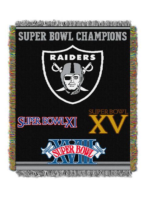 NFL Oakland Raiders Commemorative Series Tapestry