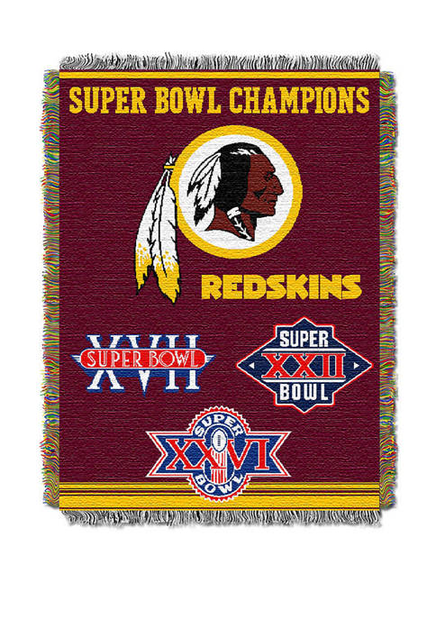 NFL Washington Redskins Commemorative Series Tapestry
