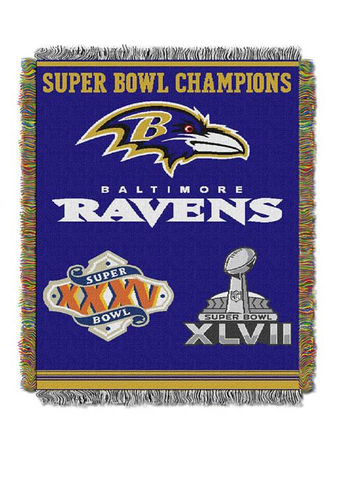 The Northwest Company NFL Baltimore Ravens Commemorative Series