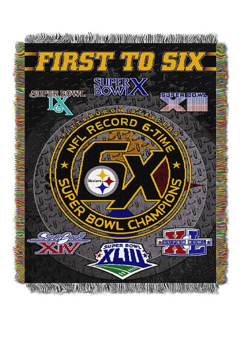 NFL Pittsburgh Steelers Commemorative Series Tapestry