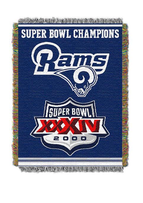 The Northwest Company NFL Los Angeles Rams Commemorative