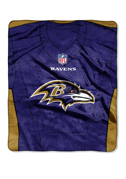 The Northwest Company NFL Baltimore Ravens Jersey Raschel