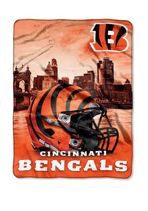 NFL Cincinnati Bengals Heritage Silk Touch Throw