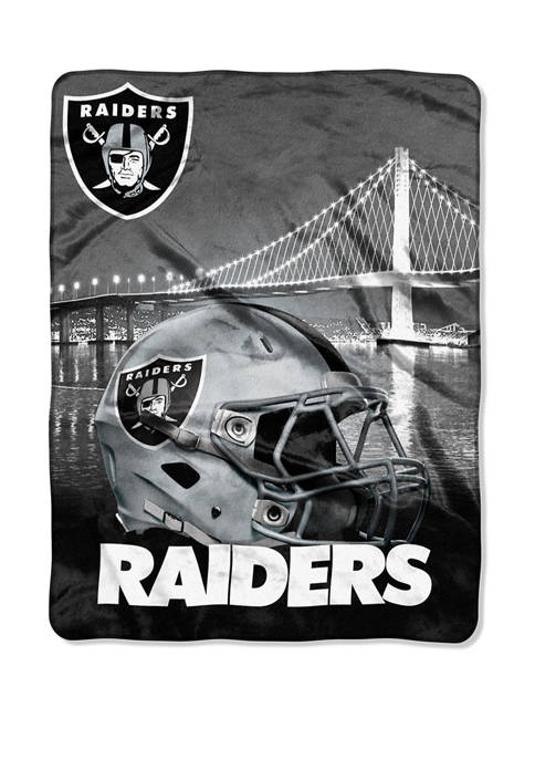 NFL Oakland Raiders Heritage Silk Touch Throw