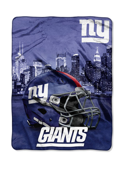 NFL New York Giants Heritage Silk Touch Throw
