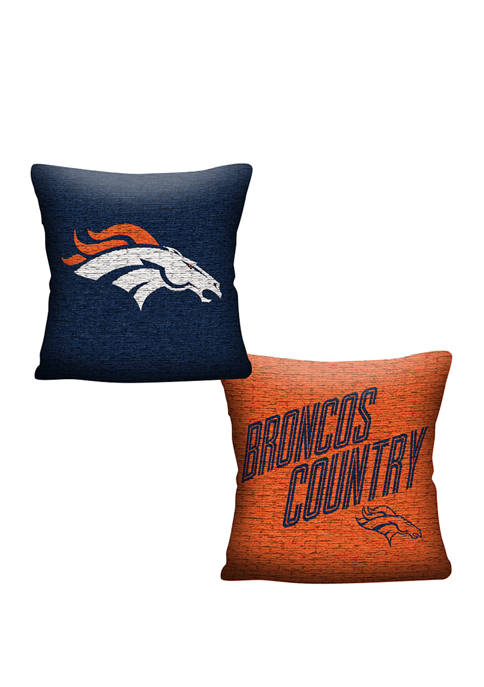 NFL Denver Broncos Invert Pillow