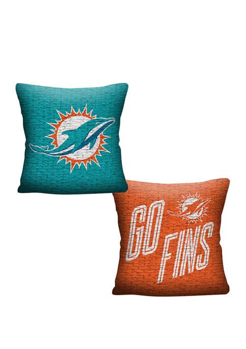 NFL Miami Dolphins Invert Pillow