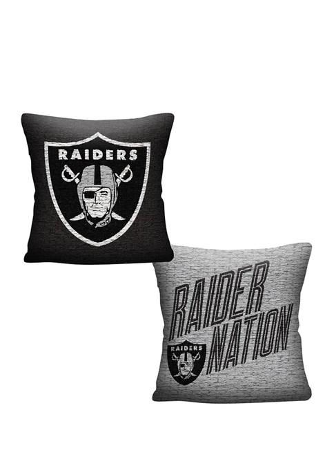 NFL Oakland Raiders Invert Pillow