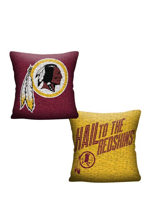 NFL Washington Redskins Invert Pillow