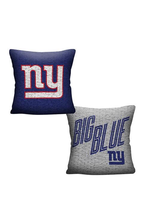 NFL New York Giants Invert Pillow