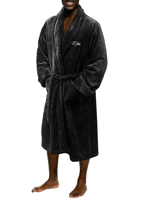 NFL Baltimore Ravens Mens L/XL Bathrobe